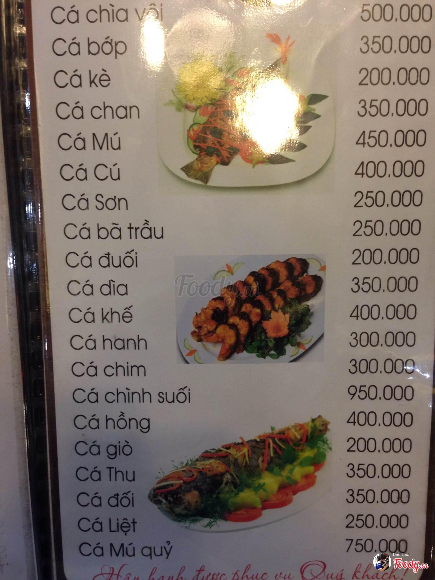 hải sản bé Anh Đà Nẵng