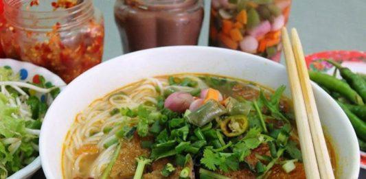 bún chả cá Nguyễn Chí Thanh Đà Nẵng