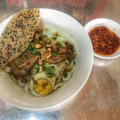 mì quảng gà quê Tam Kỳ tại Đà Nẵng