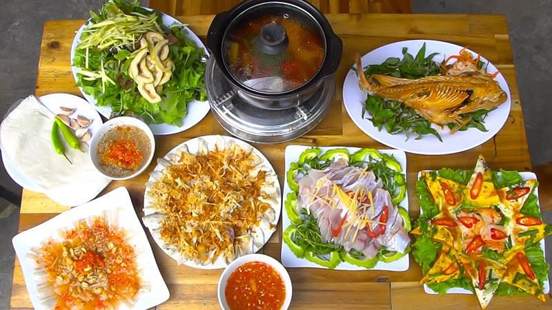 gỏi cá Sáu Hào Đà Nẵng