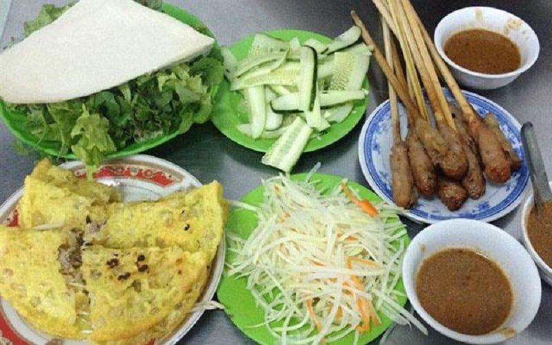 bánh xèo miền Trung Đà Nẵng