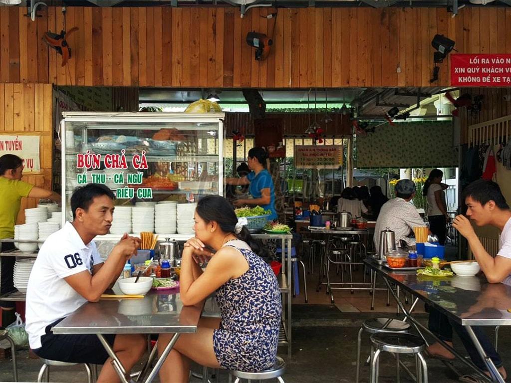 bún chả cá Lê Hồng Phong Đà Nẵng