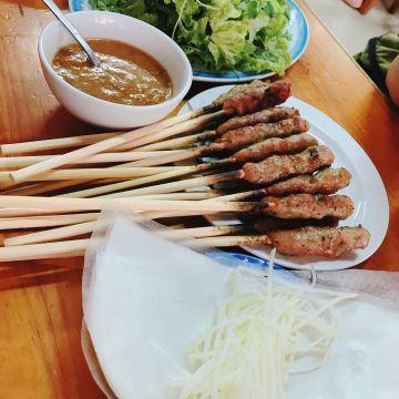 bún thịt nướng nem lụi Phú Hồng