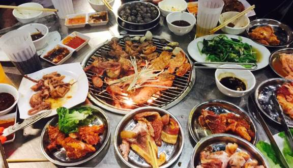 Sự hấp dẫn của các món ăn ở Zozo Quán