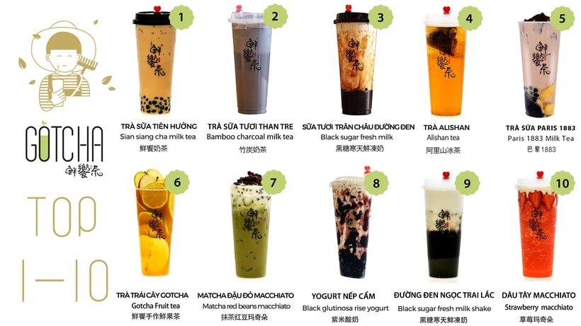 trà sữa Nha Trang